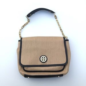 Tory Burch Woven Chain Strap Shoulder Bag